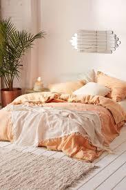 peach colored sheets