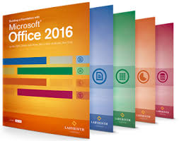 office 2016 by labyrinth learning office 2016 book collection