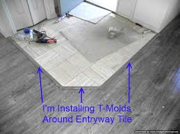 shaw gray laminate flooring installing t molds at entry tile