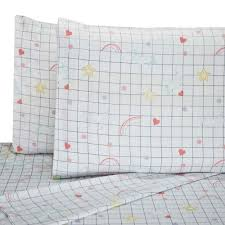 laura hart kids printed graphic unicorn queen sheet set write a review