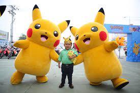 Thích thú với dàn búp bê Pikachu nhảy múa dễ thương