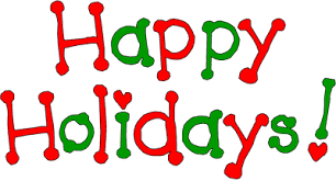 Holiday December Greetings Clip Art Png Clipartix