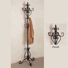 Iron Coat Rack Stand Selena Metal Coat Rack Stand 1