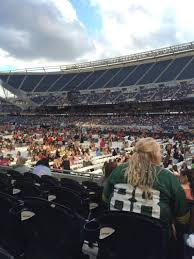 One Direction Soldier Field Seating Chart Soldier Field Section 103 Row 6 Seat 9 One Direction Tour