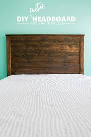 make your own diy rustic headboard andreasnotebook com