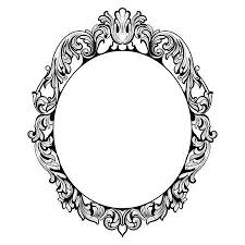 mirror frame drawing. Perfect Drawing Vector  Vintage Imperial Baroque Mirror Frame French Luxury Rich  Intricate Ornaments Victorian Royal Style Decor In Frame Drawing