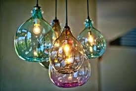hand blown glass pendant lights creative home design pretty luxury hand blown glass pendant light fixtures