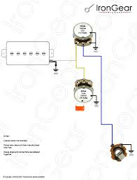 guitar pickup wiring schematic guitar image wiring guitar wiring diagrams 1 pickup no volume wirdig on guitar pickup wiring schematic