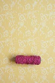 beautiful s patterned paint roller