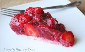 strawberry pie slice. Delighful Pie Fresh Strawberry Pie With GrainFree Crust And Slice