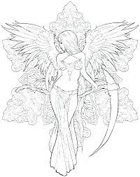Fantasy Coloring Pages For Adults Fantasy Coloring Pages Full Size