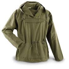 collection of military surplus jackets