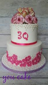 30 Years Wedding Anniversary Cake For My Parents Cake By Jennifer