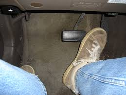 car foot brake and gas pedal by chris