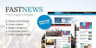 e magazine templates free download fastnews responsive magazine template html free download