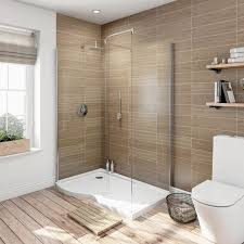 modern bathroom shower. Wonderful Bathroom 6mm Curved Left Handed Walk In Shower Enclosure With Tray 1400 X 900 Throughout Modern Bathroom Shower L