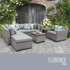 8 piece outdoor wicker patio furniture set resin reviews
