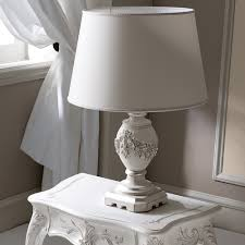 high end italian ornate carved large table lamp