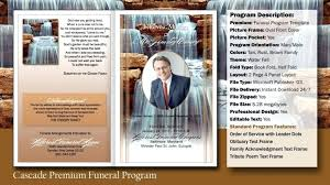 Free Funeral Program Template Word Download Publisher