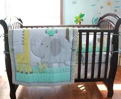 elephant crib sets elephant crib sheets giraffe baby bedding set cot for girls boys includes quilt
