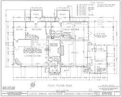 File:Judge Samuel Holten House - first floor plan.jpg