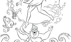 Ariel Disney Coloring Pages Antiatominfo