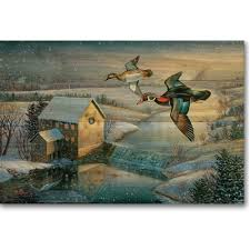 Inexpensive duck decoys for cabin decorating a child's room are available as well. Duck Wall Art Wood Flying High Decor