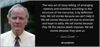 TOP 10 QUOTES BY JAMES CARROLL | A-Z Quotes
