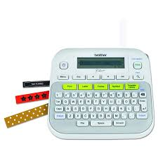 brother p touch ptd210 easy to use label maker