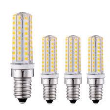 Mini Light Bulbs Md Lighting 7w E14 Mini Led Light Bulbs 4 Pack 72 Leds 2835