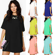 2017 New Summer Women Fashion Casual Dress Big Size Short Sleeve Casual Dress For Party
