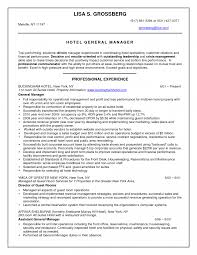 Sample Resume Hotel Reservations Manager Ixiplay Free Front Office