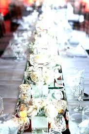 table centerpieces for weddings mirror round decoration ideas wedding wedd