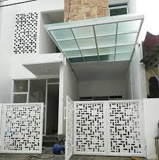 Warna cat pagar, gambar pagar minimalis, model pagar, kombinasi pagar, inspirasi pagar minimalis. 10 Inspirasi Desain Pagar Minimalis Untuk Percantik Rumah Blog Ruparupa