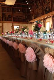 metal folding chairs wedding. Brilliant Folding Chair Covers To Hide Those Nasty Metal Folding Chairs Twin Sheets Cut  And Hemmed With Tissue Paper Peonies Tied On For Metal Folding Chairs Wedding R
