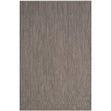 miracle safavieh courtyard rug black beige 4 ft x 6 indoor outdoor area