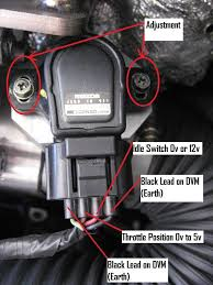guide adjusting 4 wire throttle position sensor servicing posted image