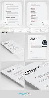 Creative Word Resume Templates Creative Resume Modern Resume Template Cv Cover