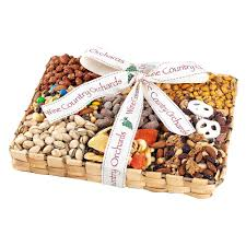 wine country gift baskets deluxe mixed nut gift collection 836 the