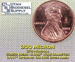 Stainless Steel Micron Rating Examples Utah Biodiesel