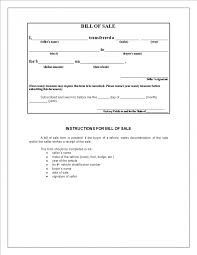 Generic Bill Of Sale Form Free Massachusetts Motorcycle Bill Of Sale Form 19999924731023