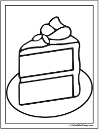 Small Picture Emejing Cake Coloring Book Images Printable Coloring Page Design
