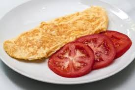 calories in a two egg omelette