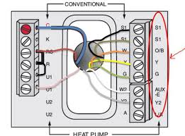 goodman heat pump wiring diagram thermostat wiring diagram electrical wiring for heat pump auto diagram honeywell rth7600d 7 day programmable thermostat