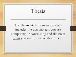 compare and contrast essay for compare and contrast essay ppt  10 highlight the key ideas that present an insightful argument