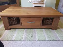 next hartford coffee table excellent condition solid pine comes with storage drawer and baskets