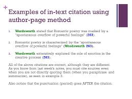 How To Use In Text Citations In Essay