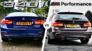 BMW 3 Series bmw 335d performance parts : BMW 340i M Sport vs M Performance EXHAUST SOUND by AutoTopNL - YouTube