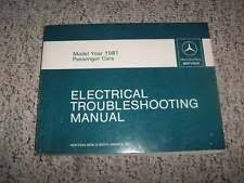 mercedes 300sd manuals ebay 1985 Mercedes W126 300sd Wiring Diagram 1981 mercedes benz 300sd 300 sd electrical wiring diagram troubleshooting manual 1986 Mercedes 300SD