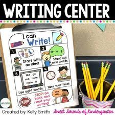 Writing Center Sentence Writing Anchor Charts And Printables